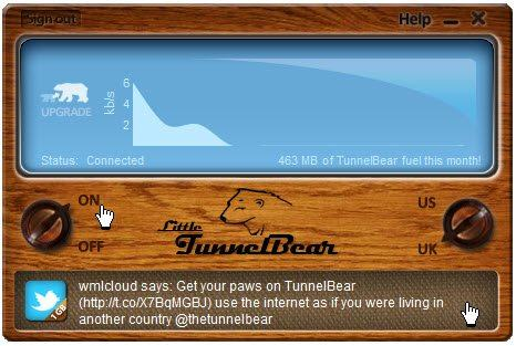 Tunnel Bear vpn 2016