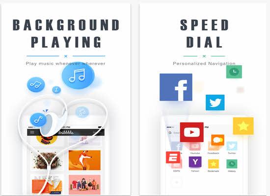 UC Browser ipad Web Browser 2019
