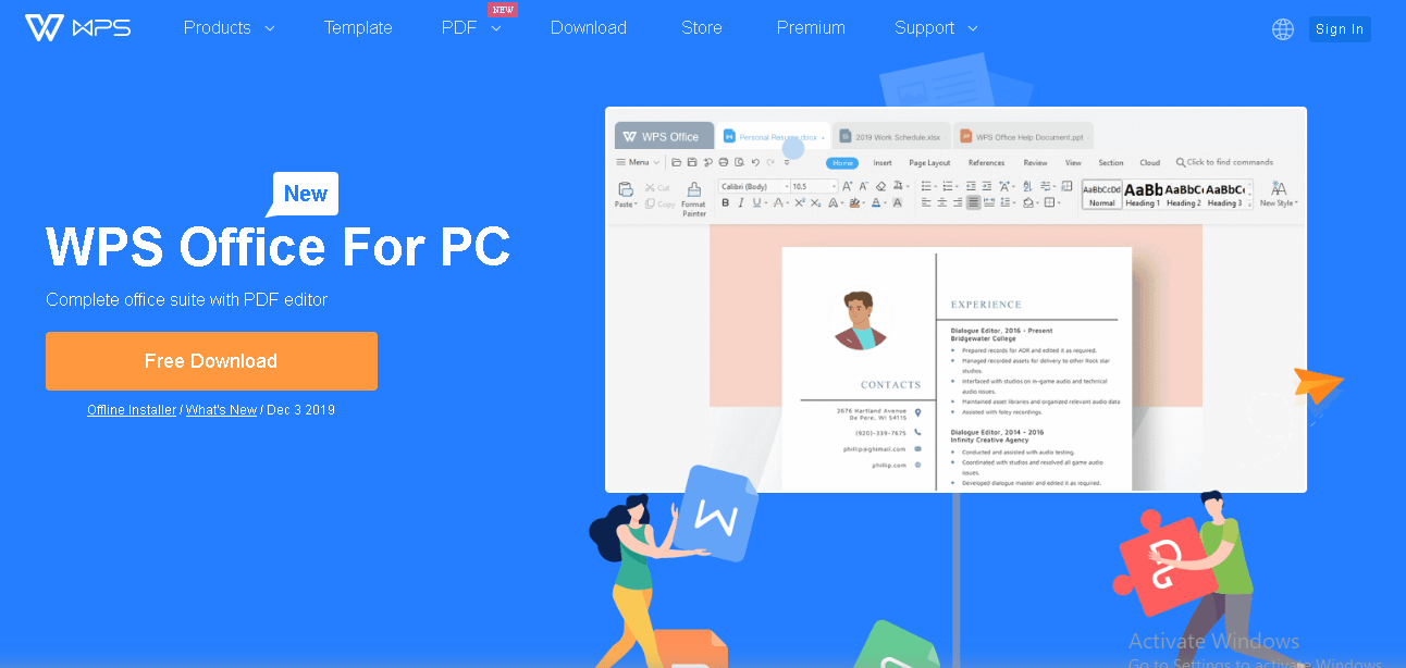 WPS office for pc review