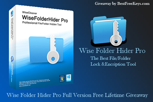 Wise Folder Hider Pro License Key