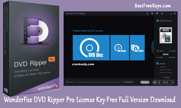 WonderFox DVD Ripper Pro License Key