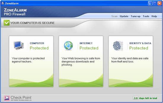 Zone Alarm Pro Firewall 2016