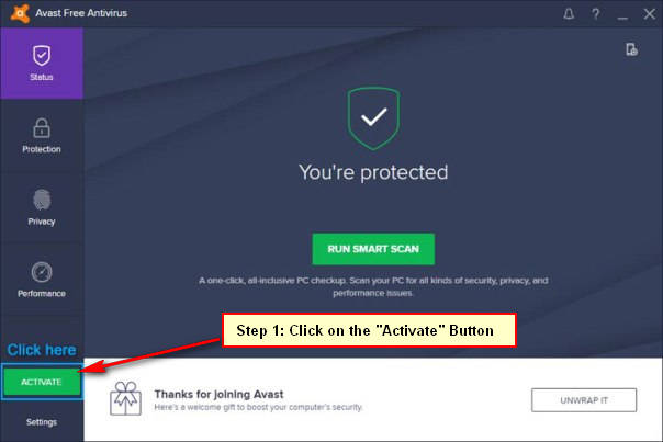 Avast Free Antivirus 2019 Activation Code Free Serial Key 1Yr