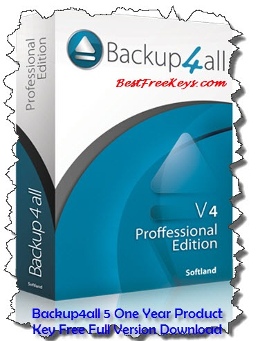 Backup4all 5 Product Key