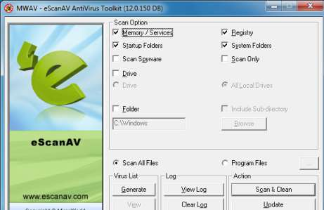 eScanAV-Anti-Virus-Toolkit