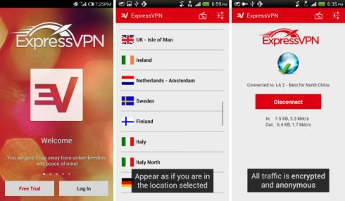 express vpn android app