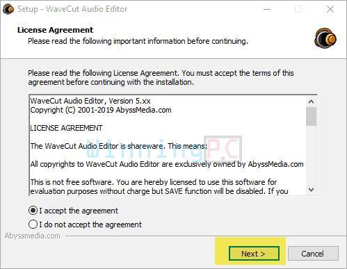 giveaway wavecut audio editor free license key step 1
