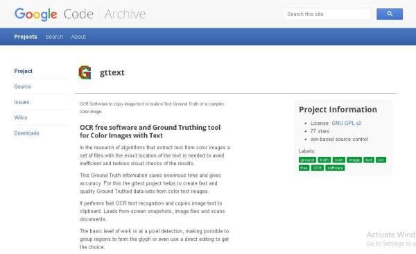 google code archive