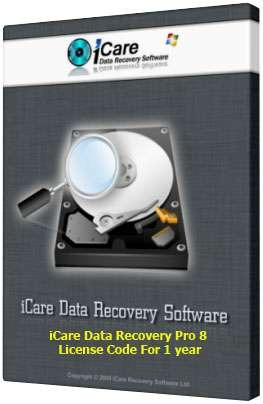 iCare Data Recovery Pro 8 License Code (Regrestration Code Key)