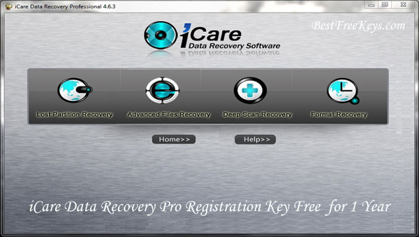 iCare Data Recovery Pro Registration Key