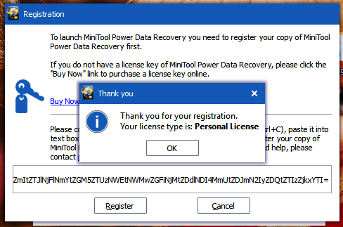 minitool power data recovery activation Code free download full