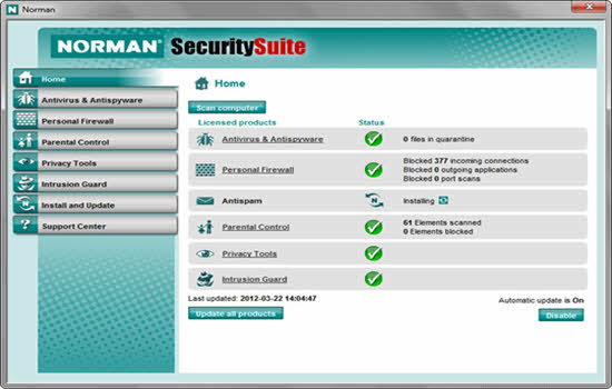 norman security suite pro 2016
