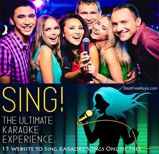 Sing karaoke online free
