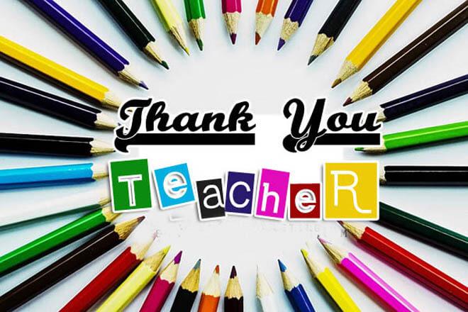 thank you messages for preschool teachers